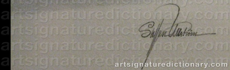 Signature by Staffan ULLSTRÖM