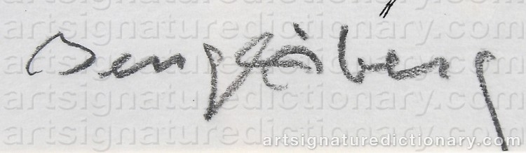Signature by Bengt ÅBERG
