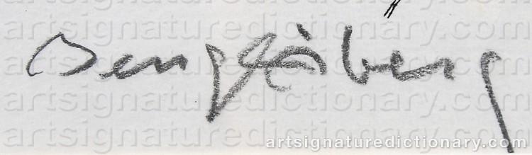 Signature by Bengt ÅBERG