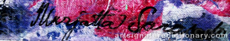 Signature by Marjatta SARASALO