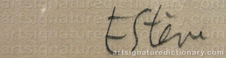 Signature by Maurice ESTEVE