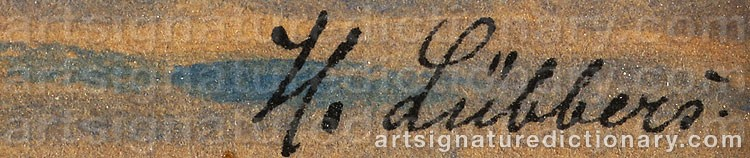 Signature by Holger LÜBBERS