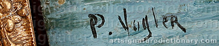 Signature by Paul VOGLER