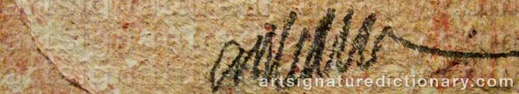 Signature by Fernandez ARMAN