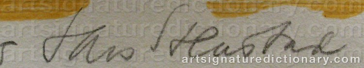 Signature by Lars STENSTAD
