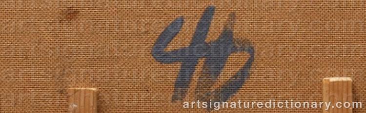 Signature by Henrik SAMUELSSON