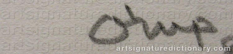 Signature by Bengt ORUP