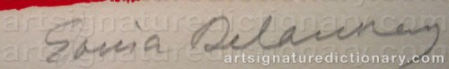Signature by: DELAUNAY, Sonia