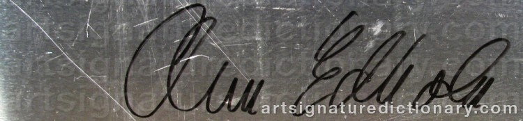 Signature by Ann EDHOLM