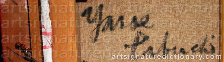 Signature by Yasse TABUCHI
