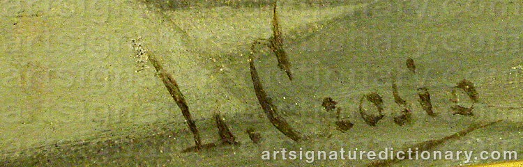 Signature by Luigi CROSIO