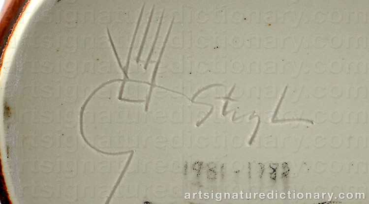 Signature by Stig LINDBERG