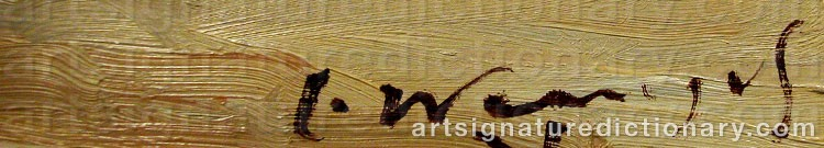 Signature by Jurgen WRANGEL