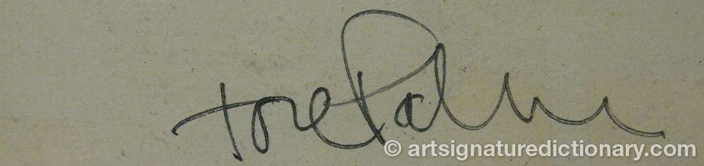 Signature by Tore PALM