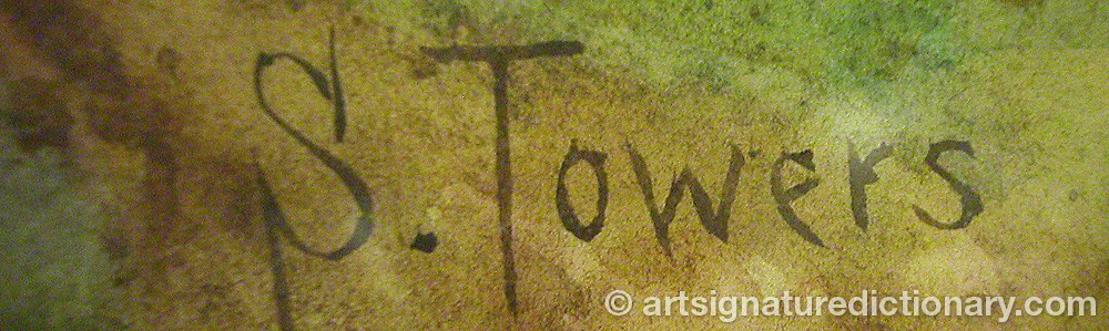 Signature by Samuel TOWERS