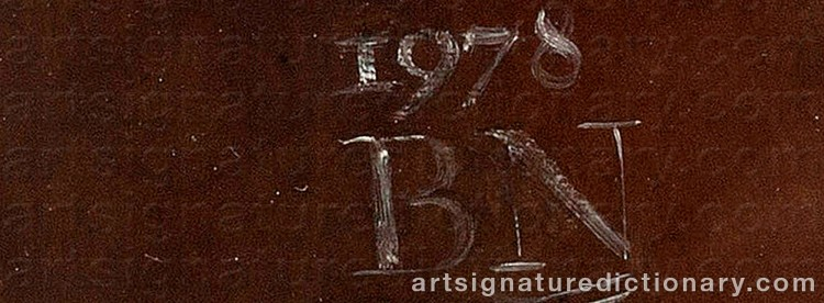 Signature by Björn NYMAN