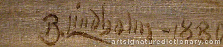 Signature by Berndt LINDHOLM