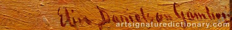 Signature by Elin 'E Dson' DANIELSON-GAMBOGI