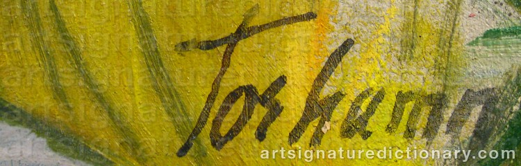 Signature by Gunnar TORHAMN