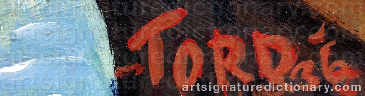 Signature by Tord LEANDER-ENGSTRÖM