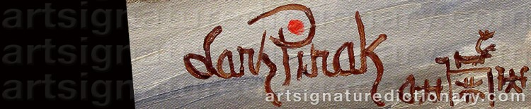 Signature by Lars (Sami Artist) PIRAK