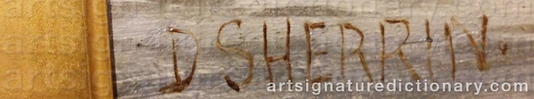 Signature by Daniel SHERRIN