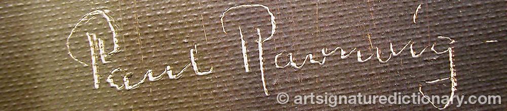 Signature by Paul RAVNVIG