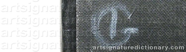 Signature by Iván GRÜNEWALD