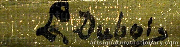 Signature by L DUBOIS