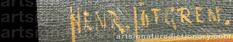 Signature by Henrik LÖFGREN