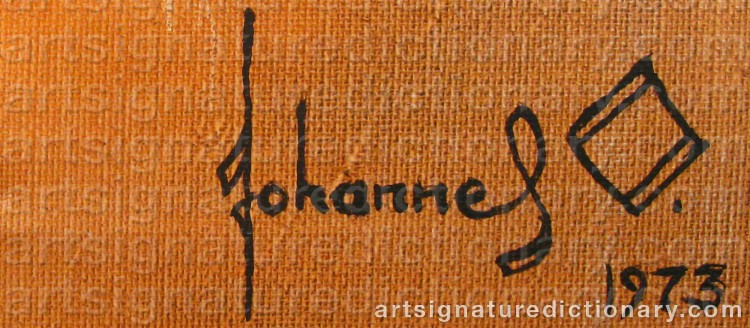 Signature by Johannes OLSSON