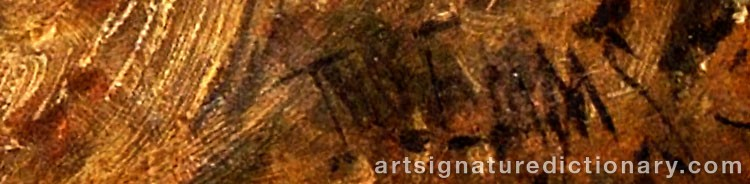 Signature by John EMMS