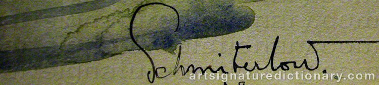 Signature by Christer SCHMITERLÖW