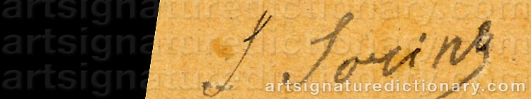 Signature by Savelii Abramovich SORINE