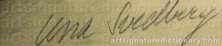 Signature by Lena 'Lena' SVEDBERG