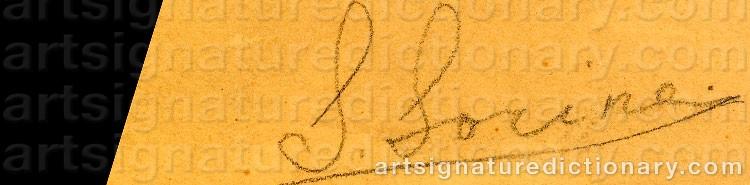 Signature by Savelii Abramovich SORINE