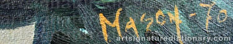 Signature by Mats MASON