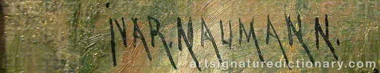 Signature by Ivar NAUMANN