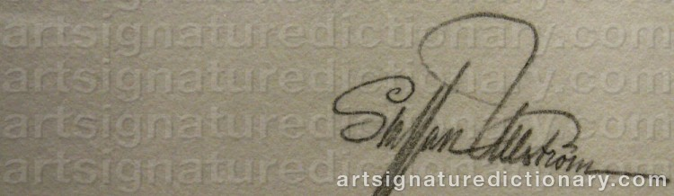 Signature by Staffan ULLSTRÖM
