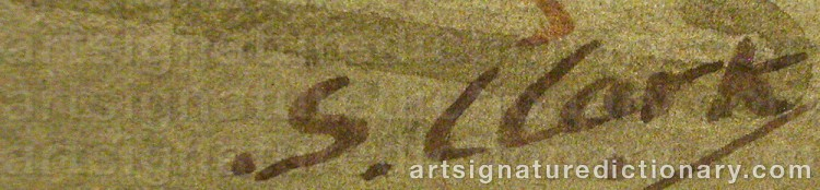 Signature by Stephen CLARK