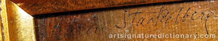 Signature by Karin STACKELBERG