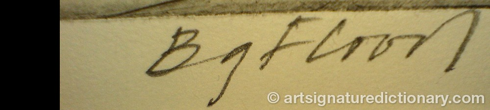 Signature by Bengt Göran FLOOD