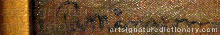 Signature by Per MÅNSSON