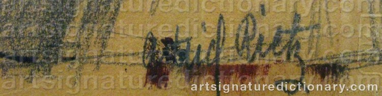 Signature by Astrid RIETZ