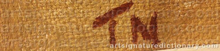Signature by Tage E. NILSSON