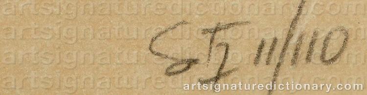 Signature by Jesús Rafael SOTO