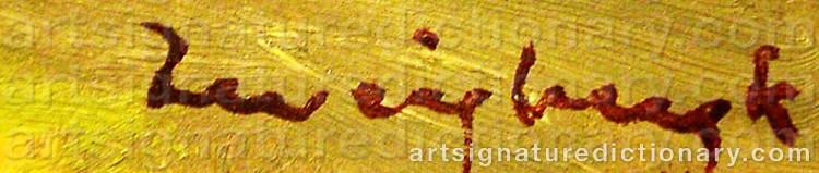 Signature by Bo Von ZWEIGBERGK