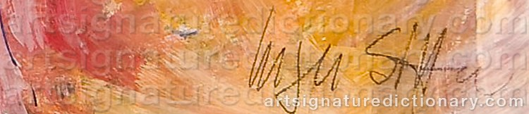 Signature by Inger SITTER