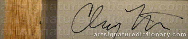 Signature by Clay KETTER