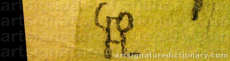 Signature by Hilding LINNQVIST